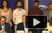 IU: Rueda de Prensa en Solidaridad con el pueblo griego desde el Parlamento Europeo