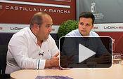Miguel Zamora, alcalde de Tarazona de la Mancha y Antonio Soler, empresario taurino