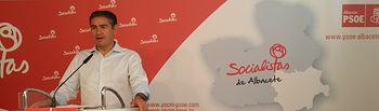 """El secretario general del PSOE en Albacete pide """"cerrar cuanto antes"""" el debate sucesorio """"para empezar una nueva época"""""""