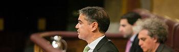 Manuel González Ramos en el Pleno del Congreso en la Sesión de Control al Gobierno.