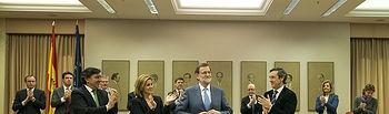 Mariano Rajoy preside la Plenaria del Grupo Popular en el Congreso