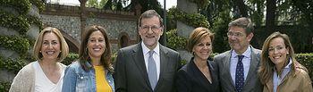 Presentación de los números uno del PP para las elecciones del 26 de junio, celebrada en Madrid