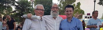 Pedro Soriano asiste al pregón del barrio San Pedro Mortero.