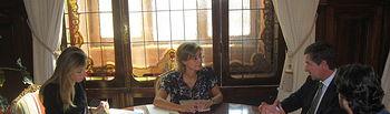Isabel García Tejerina y Mario Armero. Foto: Ministerio de Agricultura, Alimentación y Medio Ambiente