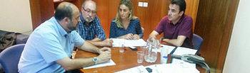 Reunión del sindicato con el Grupo Socialista en la Cortes CLM