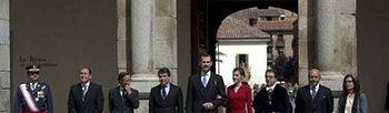 Entrega del Premio Cervantes. Foto: EFE.