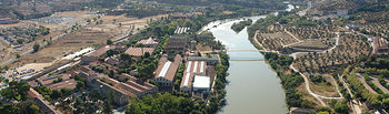 El Tajo a su paso por el Campus Tecnológico de la Fábrica de Armas