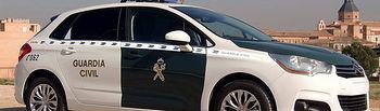 Coche de la Guardia Civil. Foto de Archivo.
