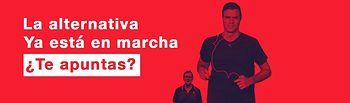 PSOE - La alternativa ya está en marcha, ¿te apuntas?