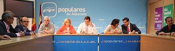 Comisión de Hacienda del PP de Albacete.
