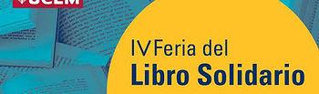 Fragmento del cartel de la Feria del Libro Solidaria