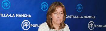 Guarinos en rueda de prensa en las Cortes CLM