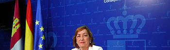 María Luisa Soriano en rueda de prensa. Foto: JCCM.