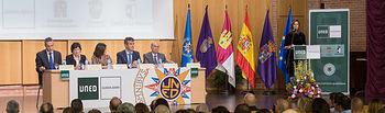 Acto de Apertura oficial del Curso Académico 2017-2018 en el Centro Asociado de la UNED en Guadalajara, celebrado el pasado miércoles 25 de octubre.