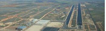 Aeropuerto de Ciudad Real. Foto de archivo.