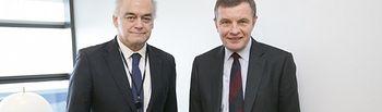 El Portavoz del PP en el Parlamento Europeo y Vicepresidente del Grupo PPE responsable para el Brexit, Esteban González Pons.