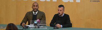 Armengol Engonga y Borja Blanco.