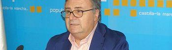 Arturo García Tizón. Presidente provincial del PP de Toledo. Foto de archivo.