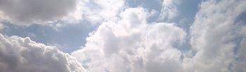 Cielo nuboso. Foto de Archivo.