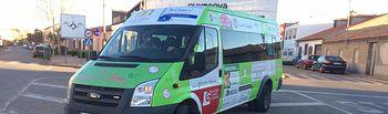 Autobús municipal de Bolaños de Calatrava.