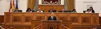 Primera jornada del Debate de Investidura en las Cortes de Castilla-La Mancha