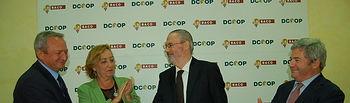 Fernando Burgaz acto fusión DCOOP y BACO. Foto: Ministerio de Agricultura, Alimentación y Medio Ambiente