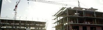 Viviendas en construcción. Foto: Archivo.