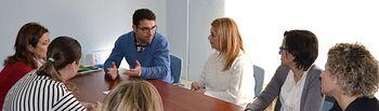Belinchón expone a AMEPAP su proyecto de Gobierno para la Ciudad de Albacete