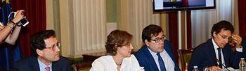 Tejerina asiste a la Conferencia Sectorial. Foto: Ministerio de Agricultura, Alimentación y Medio Ambiente.