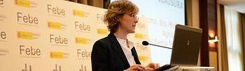 Tejerina en la clausura de la Asamblea de la Federación Española de Bebidas Espirituosas. Foto: Ministerio de Agricultura, Alimentación y Medio Ambiente.
