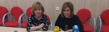 171102 Carmen Juste y Mª José Romero Rodenas.