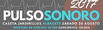 Cartel Pulso Sonoro 2017.