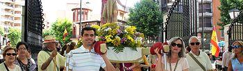 Celebración de la XVI romería en honor a San Juan.