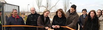 Casero inugura Los Herbideros en Carrión de Calatrava II. Foto: JCCM.