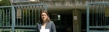 Soraya Rodríguez ante el TC