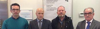 Banco Sabadell y el Colegio Oficial de Enología de Castilla - La Mancha firman un acuerdo de colaboración