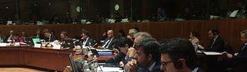 Soria en el Consejo de Energía en Bruselas. Foto: Ministerio.