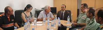 Gregorio copreside junto al alcalde de Yepes, Antonio Rodríguez-Tembleco, la Junta Local de Seguridad de la localidad