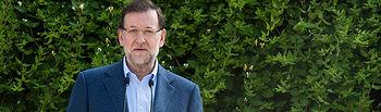 El presidente del Gobierno y del Partido Popular, Mariano Rajoy