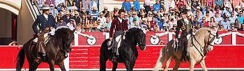 Diego Ventura - Sergio Galán - Leandro Hernández- Corrida Rejones - Feria Albacete 10-09-17