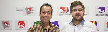 Juan Ramón Crespo y Cristian Ibáñez.