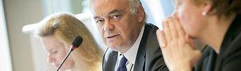 El jefe de la Delegación española y Vicepresidente del Grupo Popular Europeo en la Eurocámara, Esteban González Pons