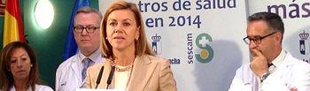 María Dolores Cospedal inaugura el Centro de Salud 'Zona 5' de Albacete 3. Foto: JCCM.