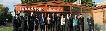Cospedal asiste a la presentación del Proyecto Adaptive de Bankinter. Foto: JCCM.