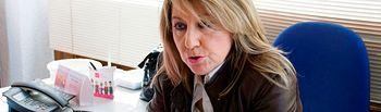 Celia Cámara, coordinadora de UPyD en Castilla-La Mancha.