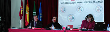 Miguel Ángel Collado, Siro Ramiro y Pepa Fernández.