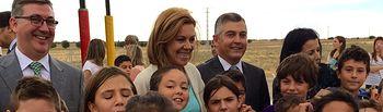 Cospedal inaugura CEIP en Ciruelos. Foto: JCCM.
