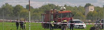 Accidente Eurofighter en Albacete cuando regresaba del desfile de la Fiesta Nacional - 12-10-17.