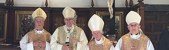 El arzobispo don Braulio Rodríguez Plaza ha presidido la Santa Misa en la catedral de Toledo en rito hispano-mozárabe, en la fiesta del Corpus Christi.