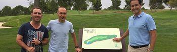 El Club de Golf las Pinaillas rinde homenaje a Andrés Iniesta